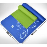 Antiskid 10cm wide type PVC yoga mat