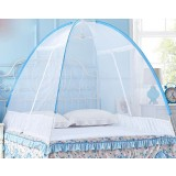 Automatically install double doors high-density mosquito net