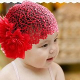 Baby girl flower headdress