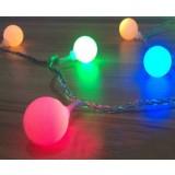 Balls LED holiday lights