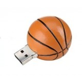 Basketball-shaped USB flash drive