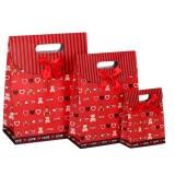 Bear clamshell gift bag