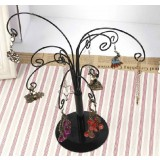 Beautiful flowers jewelry display shelf