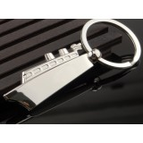 Beautifully steamship keychain