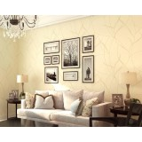 Beige Non-woven wall stickers