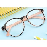 Big face style series ladies prescription glasses frames