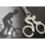 Bike riding sports keychain