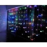 Birds curtain LED holiday lights