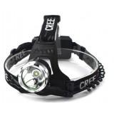 Black 10W CREE T6 LED headlamp