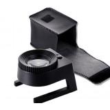 Black 30X 3leds Mini Full Metal Magnifier