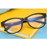 Black big face style reading glasses