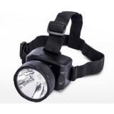 Black Purple Light LED Headlamp