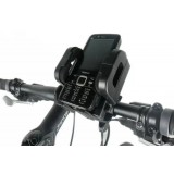 Black rotatable bicycle stand for ipod Touch 5