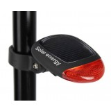Black Solar Bicycle taillights