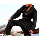 Black taekwondo coach clothes