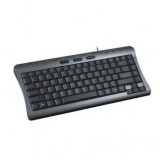 Black USB Wired Multimedia Keyboard