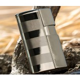 Blue flame gas windproof lighter