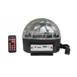 Bluetooth MP3 Sound Control LED crystal ball stage laser lights
