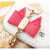 Bow strap for Mobile phone 3.5MM headphone jack
