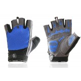 Breathable mesh half-finger cycling gloves