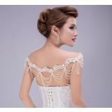 Bride shoulder chain + Earrings Set