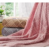 British style case grain cotton bath towel