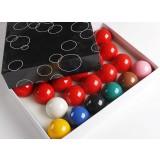 British style resin 5.25cm snooker balls