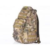 Camouflage nylon mountaineering backpack