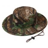 Camouflage round outdoor sun hat
