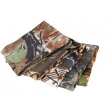 Camouflage thicker fleece windproof scarf