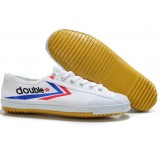 Canvas flat heel martial arts shoes