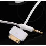 Car AUX Audio Cable for IPOD IPHONE