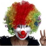 Cartoon clown mask
