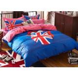 Cartoon cotton series 4pcs bedding sheet set