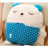Cartoon dual purpose pillow + quilt