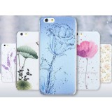 Cartoon graphics ultrathin protective cover for iphone 6 / plus
