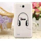Cartoon Mobile phone protective cover for Huawei honor 3C