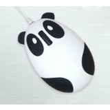 Cartoon Panda USB Wired Mouse