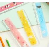 Cartoon plastic measuring ruler