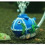 Cartoon style aquarium bubble stone