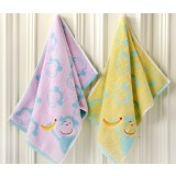 Cartoon style cotton small towel