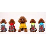 Cartoon style pet dog clothes