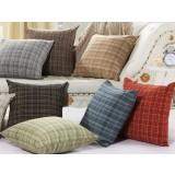 case grain linen pillow cover