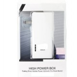 Cell phone 5000 mA mobile power bank with plug