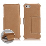 Cell phone leather case for iphone 5 / 5s
