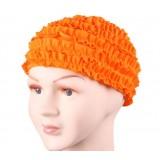 Children petal-style swimming cap
