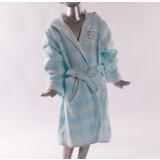 Children's cartoon embroidery cotton bathrobes