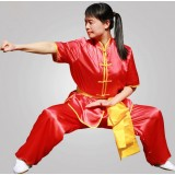 Children's short sleeves martial arts clothing