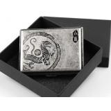 Chinese sacred animal copper cigarette case