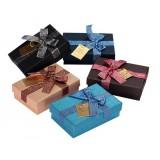 Chocolate bow packing box